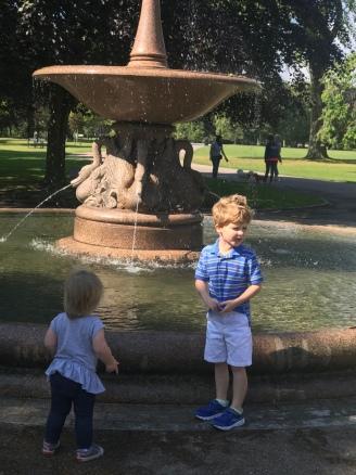 Brooks and Mia @ Fountain