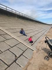 Sea Wall at Aberdeen Beach