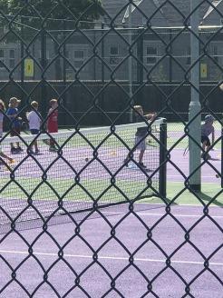 Brooks at Tennis Camp