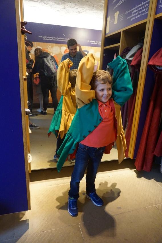 Brooks as a jester