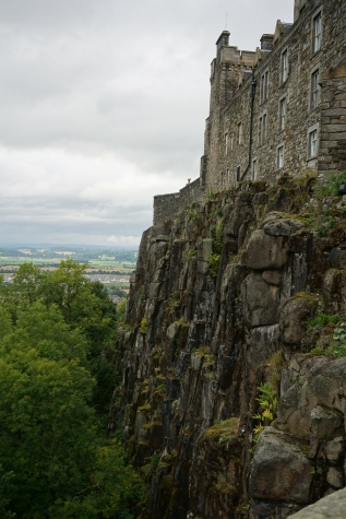Drop from the castle